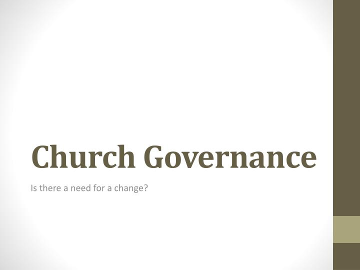 Church governance