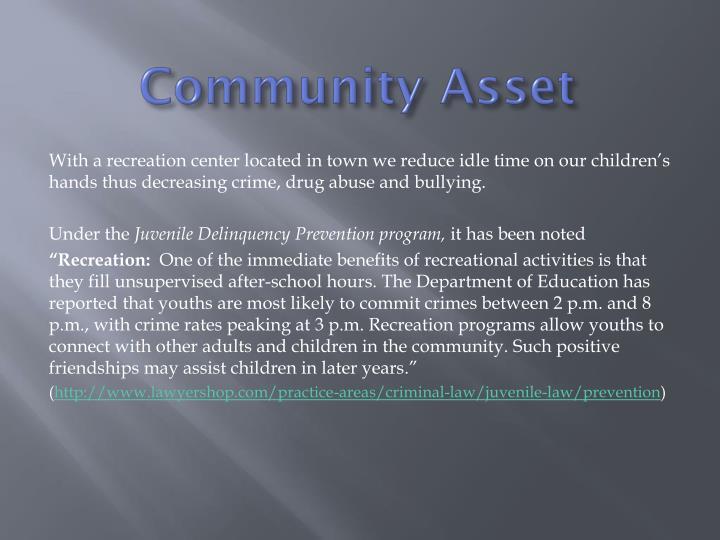 Community Asset