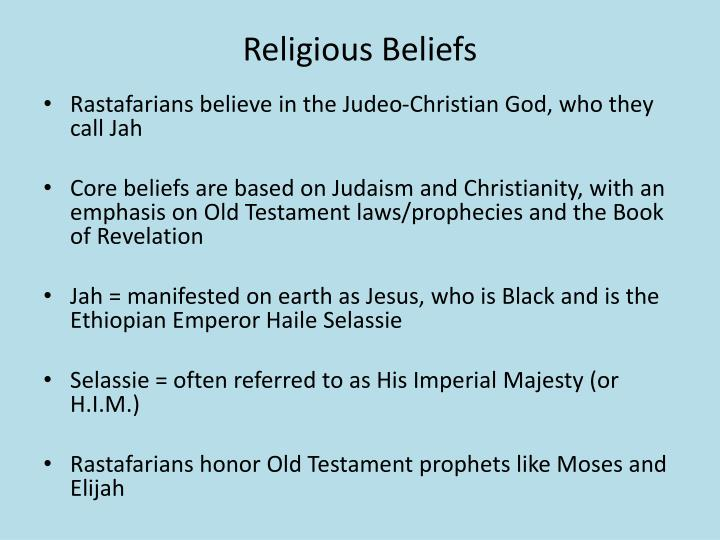 rastafarianism religious beliefs spiritual practices 9 they call halie selassie the second coming of christ this belief, which is a core part of the rastafari philosophy, was taken up at the inception of the religion.