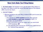 new york state tax filing status