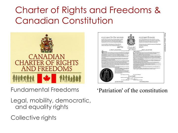 Charter of Rights and Freedoms &
