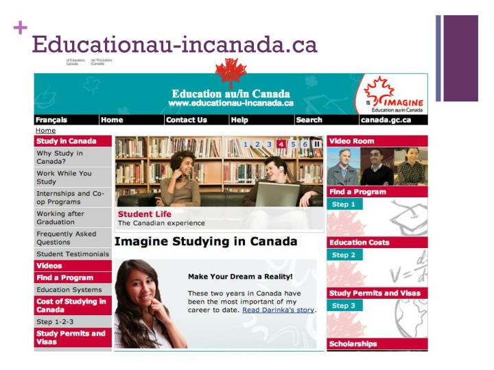Educationau-incanada.ca