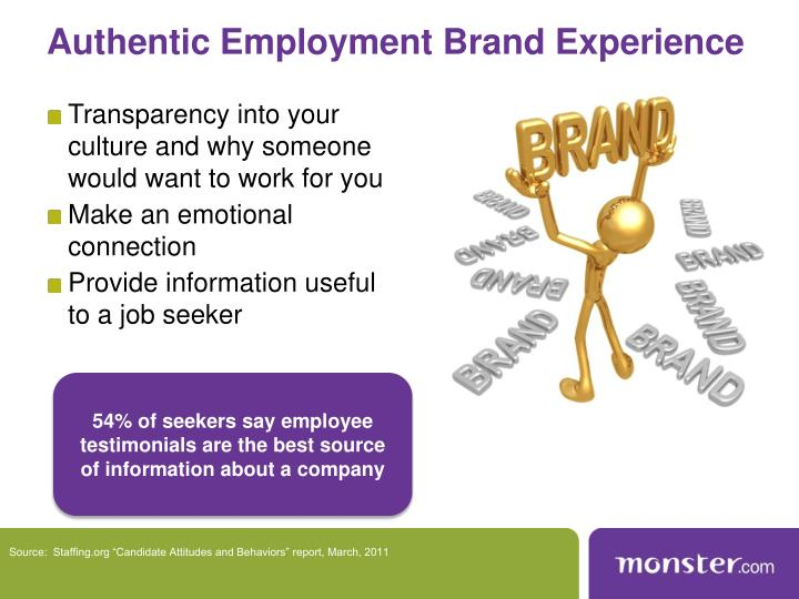Authentic Employment Brand Experience