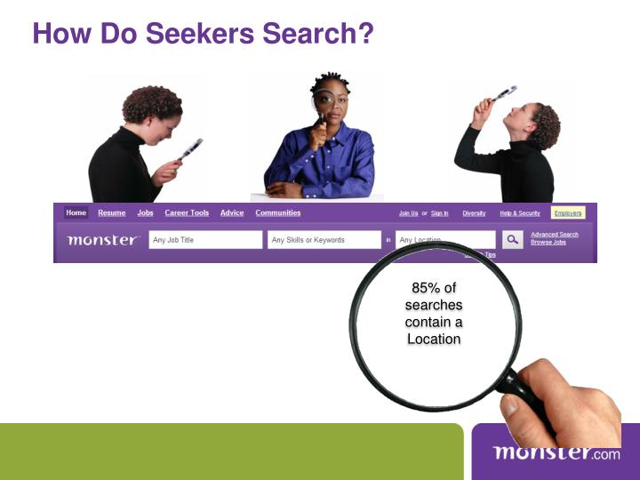 How Do Seekers Search?