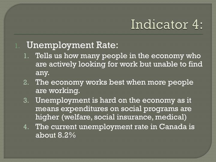 Indicator 4: