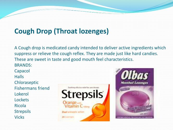 Cough Drop (Throat lozenges)