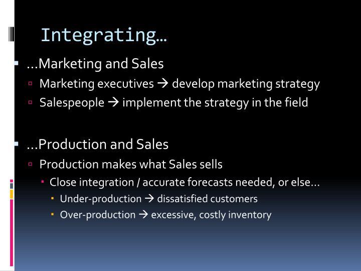 Integrating…