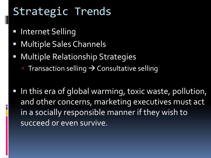 Strategic Trends