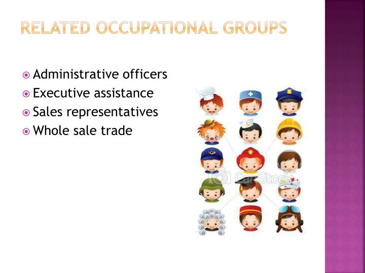 Related Occupational Groups