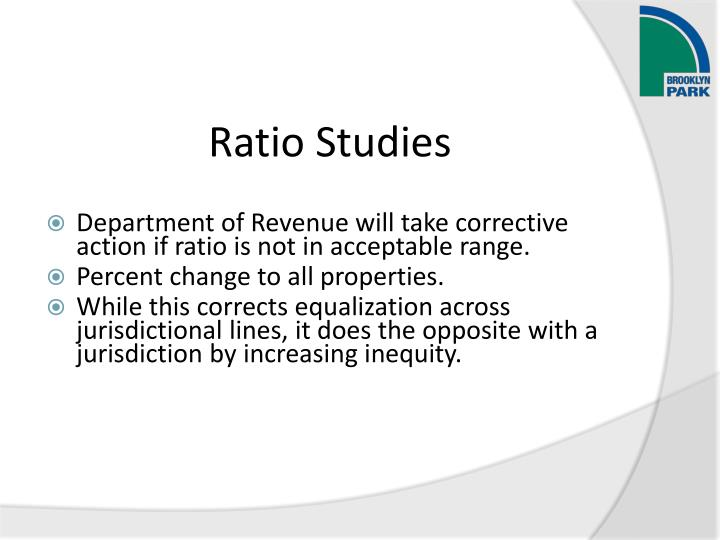 Ratio Studies