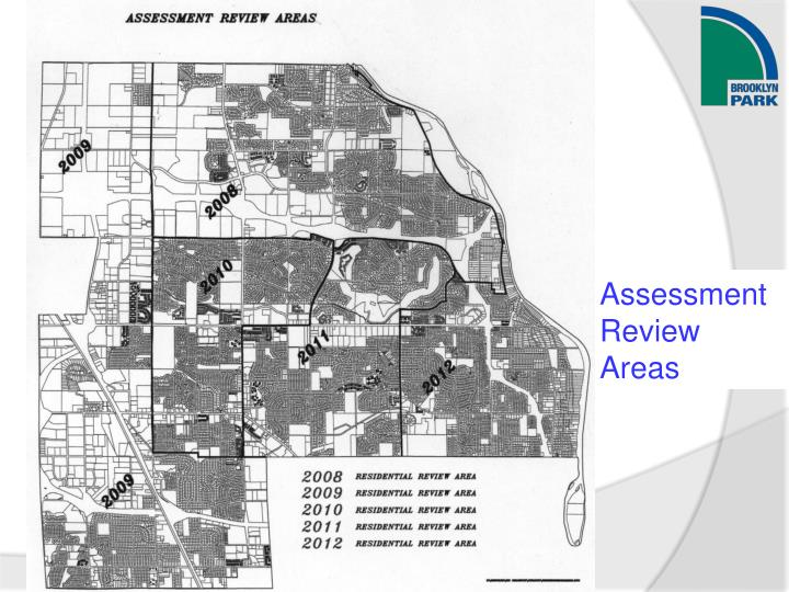 Assessment Review Areas