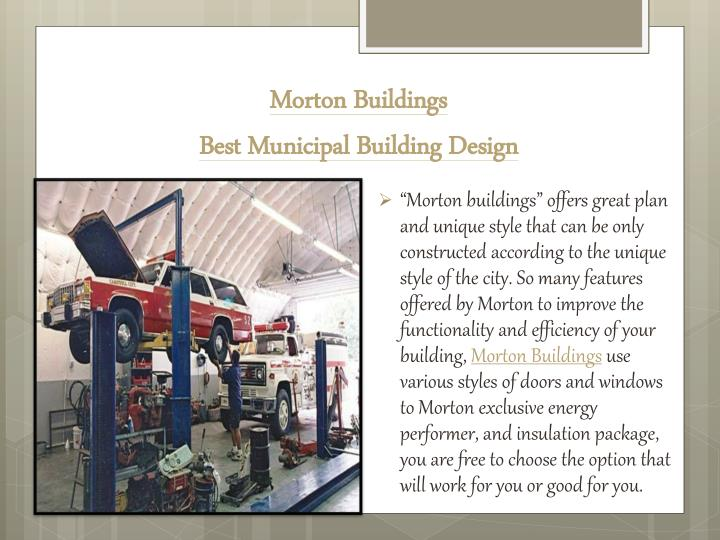 Morton Buildings