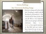 morton buildings best veterinarian building design