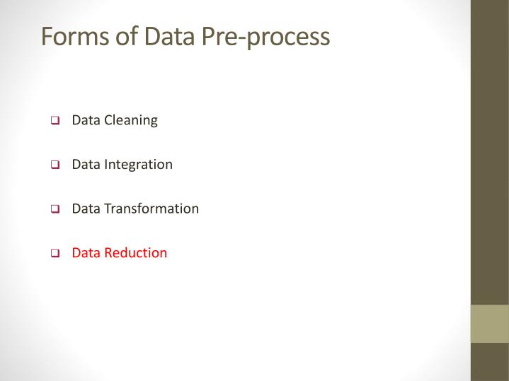 Forms of Data