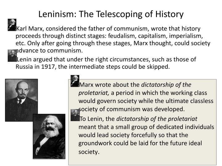 Leninism: The Telescoping of History