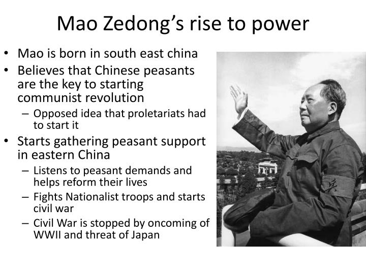 Mao Zedong's rise to power