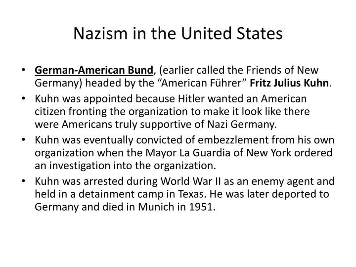 Nazism in the United States