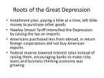 roots of the great depression1