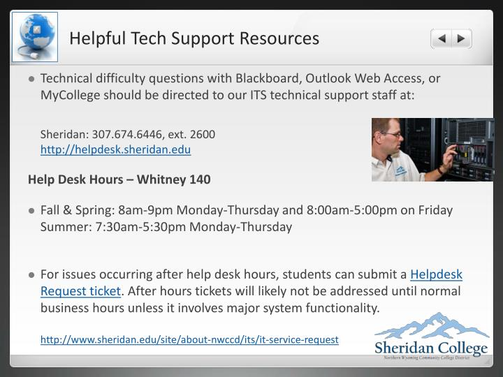 Helpful Tech Support Resources