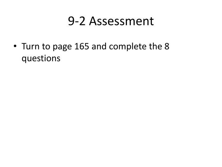 9-2 Assessment