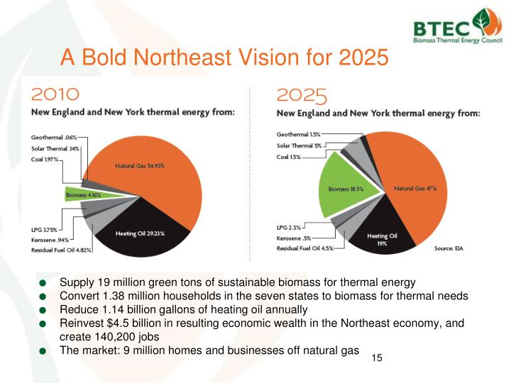 A Bold Northeast Vision for 2025
