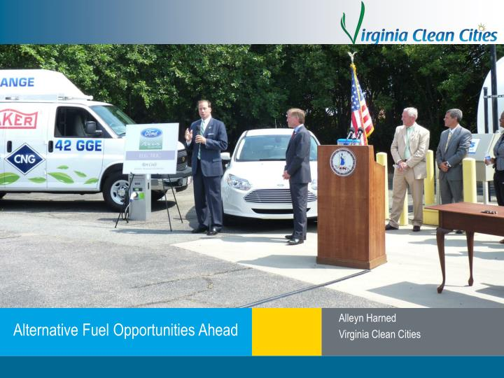 Alternative fuel opportunities ahead
