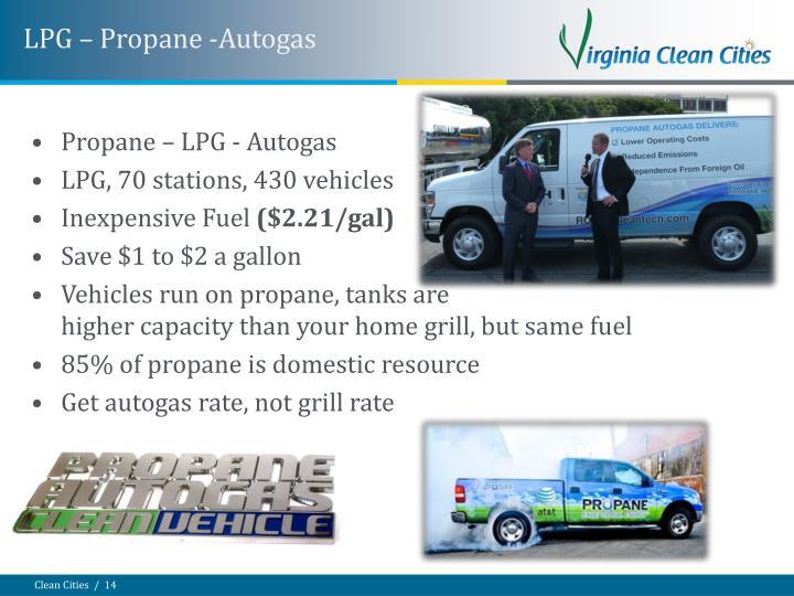 LPG – Propane -