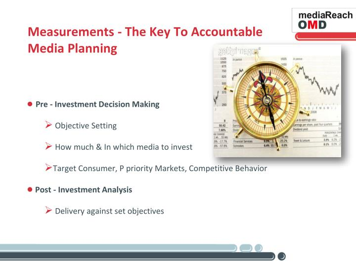 Measurements - The Key To Accountable Media Planning