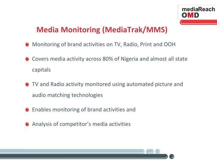 Media Monitoring (