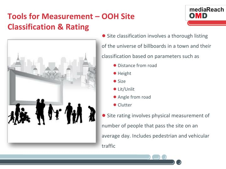 Tools for Measurement – OOH Site Classification & Rating