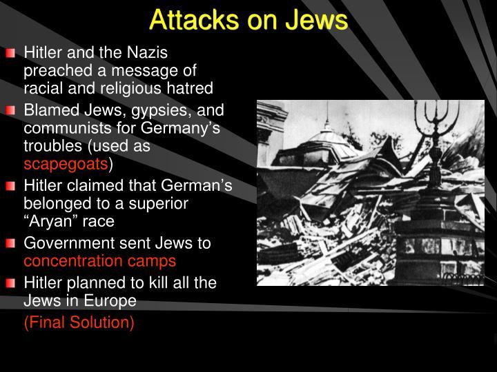 Attacks on Jews