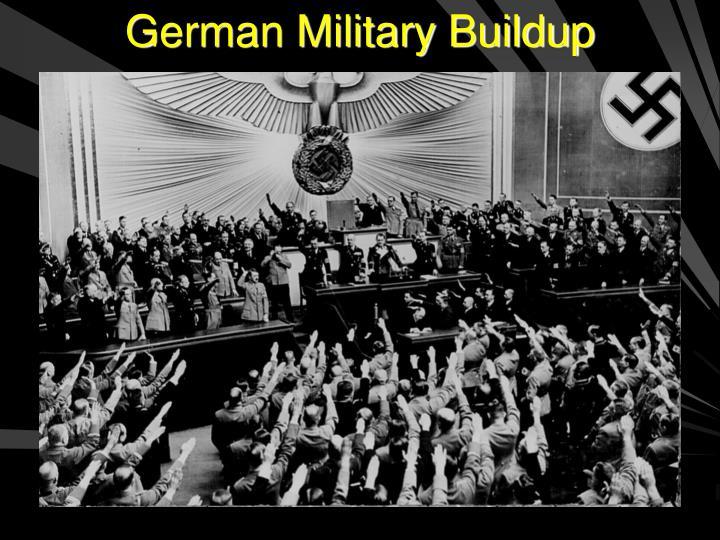 German Military Buildup