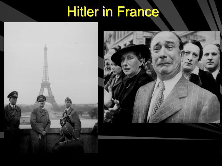 Hitler in France