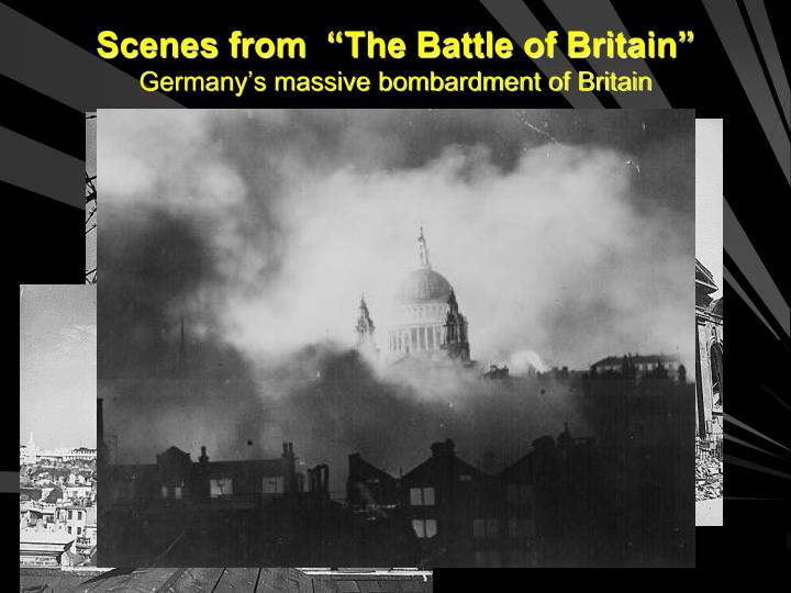 "Scenes from  ""The Battle of Britain"""