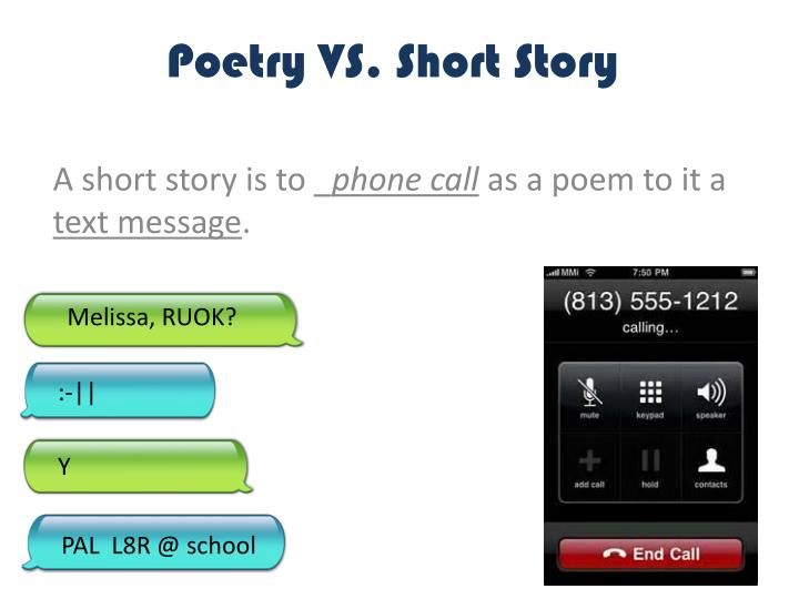Poetry VS. Short Story