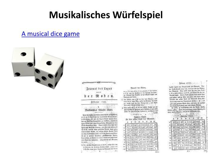 Musikalisches W