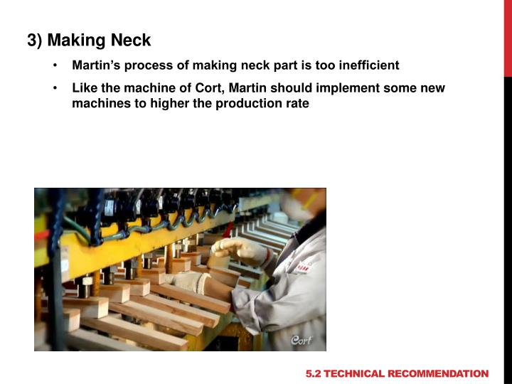 3) Making Neck
