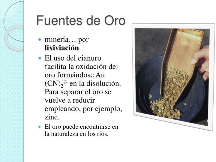 Fuentes de Oro