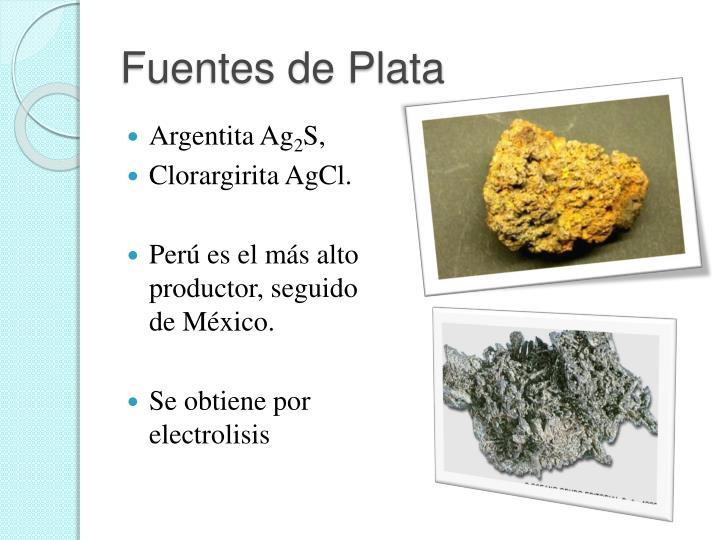 Fuentes de Plata