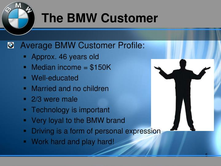 The BMW Customer