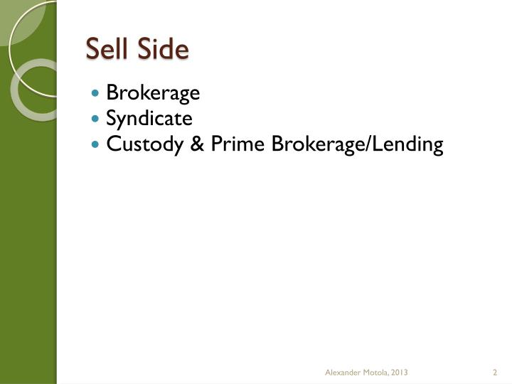 Sell Side