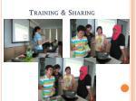 training sharing