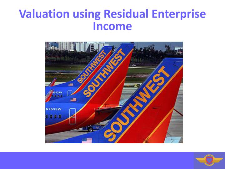 Valuation using Residual Enterprise Income