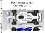 don t forget to visit our indy car