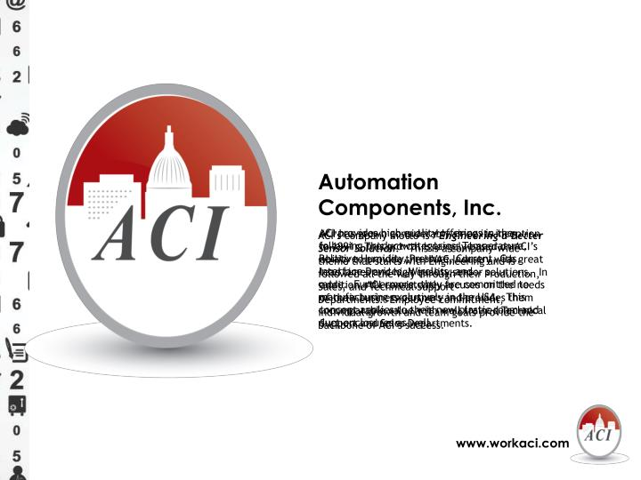 Automation Components, Inc.