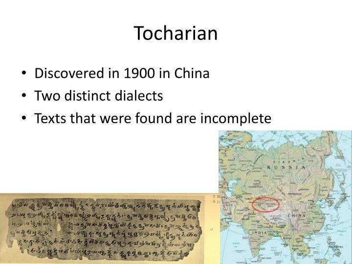 Tocharian