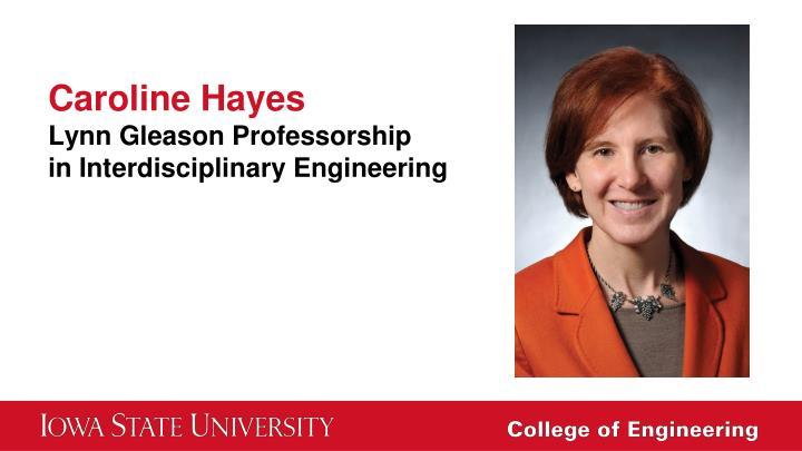 Caroline Hayes
