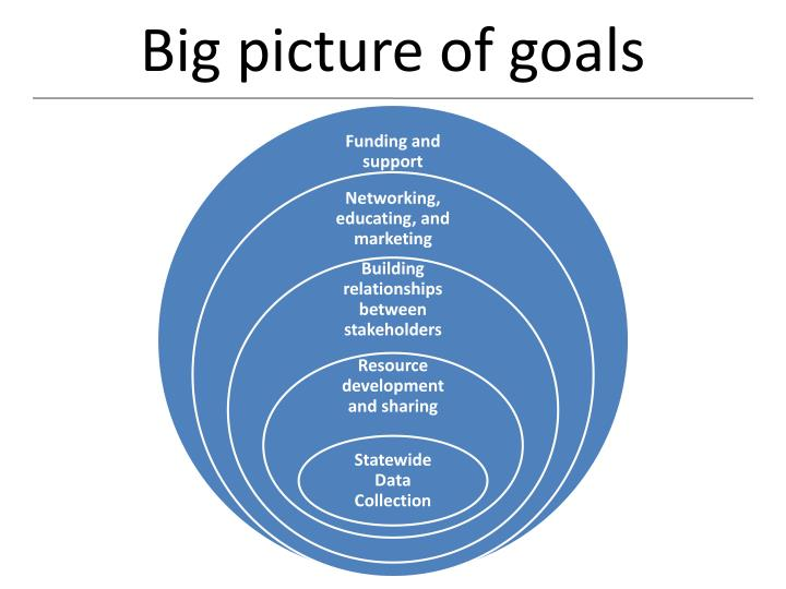 Big picture of goals