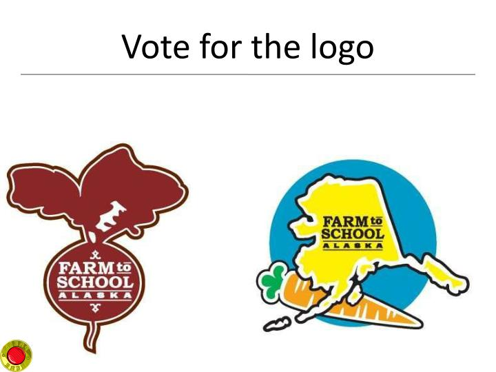 Vote for the logo
