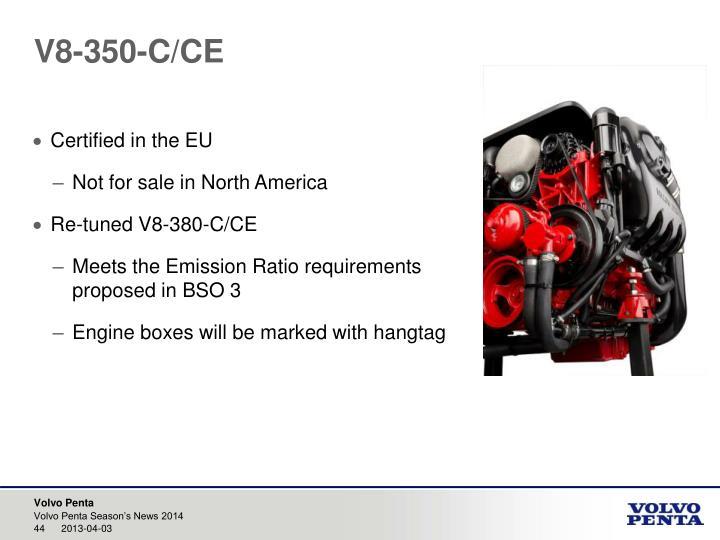 V8-350-C/CE